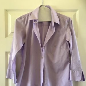 Tops - Lady Hathaway three-quarter inch sleeve blouse